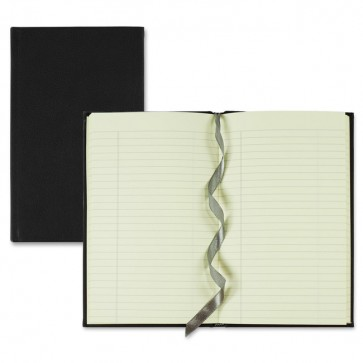 """Winnable Executive Journals, With Bookmark, 152 Pages, 8"""" x 5"""", Black"""