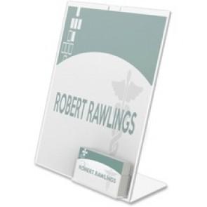 Deflecto Image Card Pocket Slanted Sign Holder