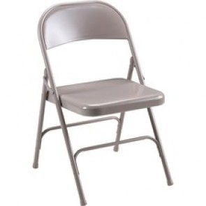 Lorell Steel Folding Chairs - 4/CT