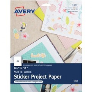 Avery® Printable Sticker Paper