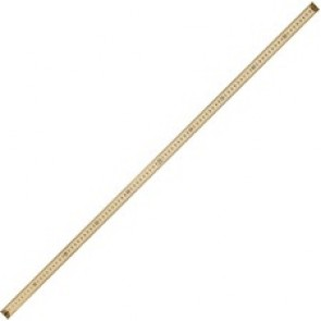 Acme United Wooden Metre Stick with Metal Ends