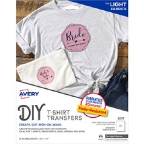 Avery&reg  Iron-On T-Shirt Transfer