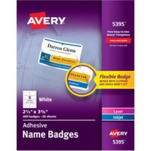 Avery Name Badge Label