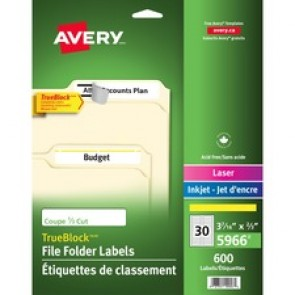 Avery&reg  File Folder Label