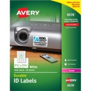 Avery&reg Durable ID Label
