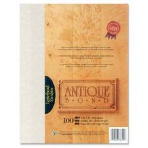 First Base 78722 Antique Bond Parchment Paper