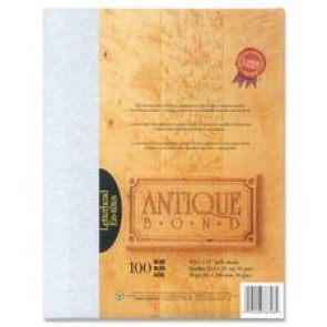First Base  Antique Bond Parchment Paper