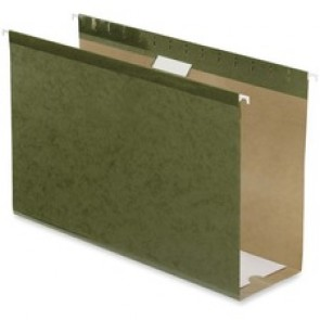 "Pendaflex  Hanging Folders, 4"" Capacity, Legal Sheet Size, 25/Box, Standard Green"