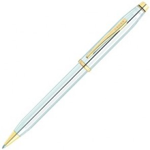 Cross Century II Medalist Chrome 23KT Gold Plated Appointments Ballpoint Pen