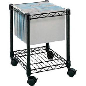 Safco  Compact Mobile File Cart