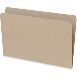 Pendaflex  Recycled File Folders, Legal Sheet Size, 10-1/2 Point, Straight Cut Tab,Sand