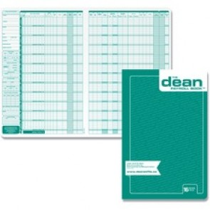 Dean & Fils Sixteen Employees Payroll Book