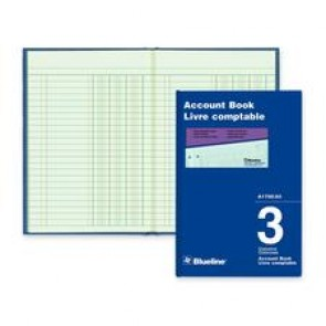 Blueline Miniature Accounting Book