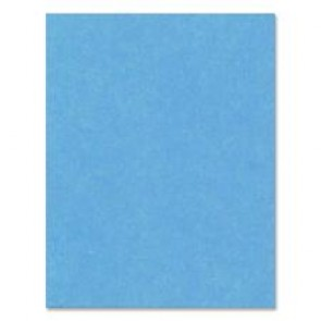 "Hilroy Heavyweight Recycled Bristol Board, 22"" x 28"", Light Blue"