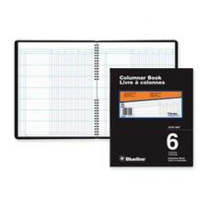 Blueline 767 Series Double Format Columnar Book
