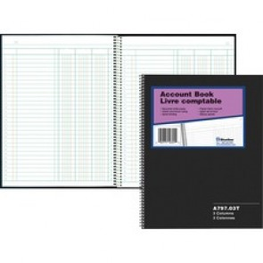 Blueline 797 Series Accounting Book