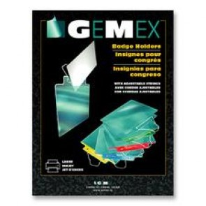 Gemex Badge Holder with Adjustable String