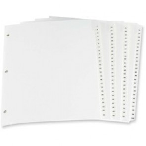 Oxford Laminated Tab Index Divider