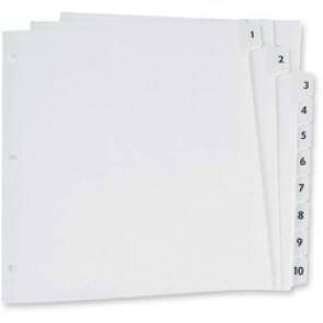 Oxford Preprinted Lamin Tab Index Divider