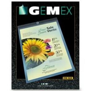 Gemex Vinyl Hang-Up Style Sheet Holder