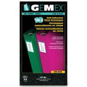 Gemex Adhesive Vinyl Pocket