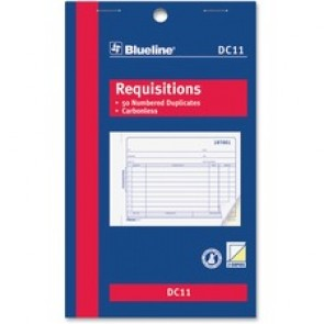 Blueline  Requisition Form