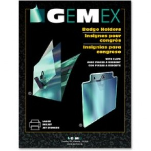 Gemex Badge Holder With Clip