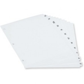 Oxford  Poly Tab Index divider