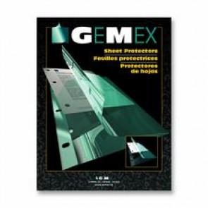 Gemex  Legal-size Side-loading Sheet Protectors
