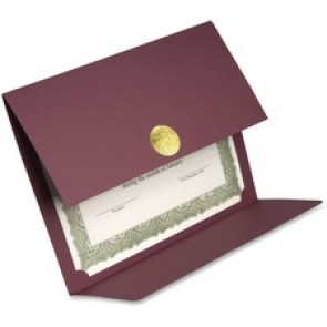 First Base 83533 Medallion Linen Certificate Holder