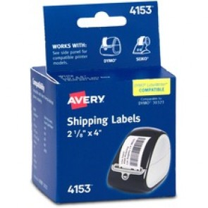 "Avery Thermal Label Printer 2 1/8x4"" Shipping Label"