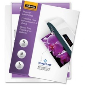 Fellowes  Letter-size Glossy Laminating Pouches