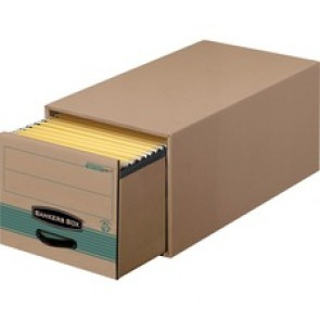 Bankers Box Recycled Stor/Drawer Steel Plus File Storage System