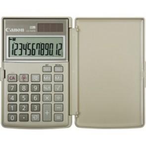 "Canon  Ls-154Tg Calculator, 12 Digit - Lcd - Battery/Solar Powered - 0.4"" x 4.8"" x 3.1"" - Ebony"