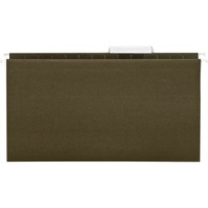 Business Source  1/3 Cut Legal-size Hanging File Folders