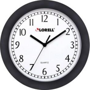"Lorell  9"" Round Profile Wall Clock"