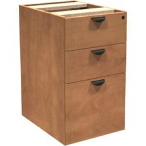 Heartwood Innovations Box/Box/ File Pedestal - 3-Drawer