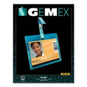 Gemex CW827 Security ID Card Horizontal Badge Holder