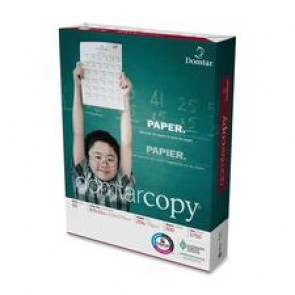 "Domtar Copy Paper, 92 Brightness, 20Lb.,  (8-1/2"" x 11"", Letter)  , 500/Ream, White"
