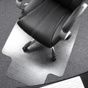 Cleartex Ultimat Low/Medium Pile Carpet Chairmat w/Lip