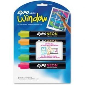 Expo Neon Window Neon Dry-erase Markers