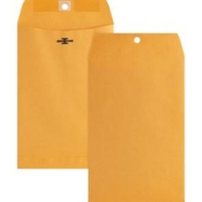 Business Source Heavy-duty Metal Clasp Envelopes