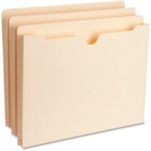 "Business Source 1"" Expansion Heavyweight File Pockets"