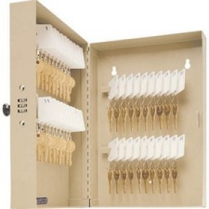 MMF POS Combination 40-Key Cabinet, Sand