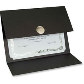 St. James Elite Medallion Fold Certificate Holders with Silver Medallion