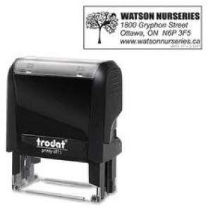 Trodat  Climate Neutral 4915 Self-inking Stamp