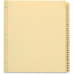 TOPS Preprinted Tab Divider