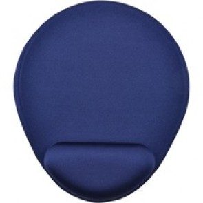 """First Base Wrist Rest Mouse Pad, 8""""x9-1/4""""x1/4"""", Blue"""