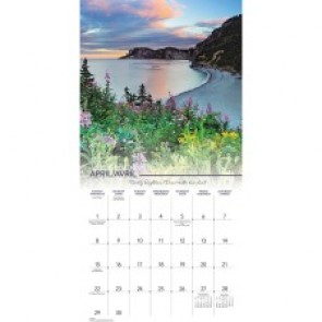 At-A-Glance  Canadian Landscape Wall Calendar