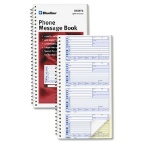 Blueline  400 Message Book
